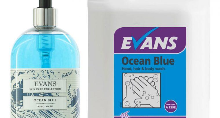 Evans Ocean Blue Hand & Body Wash