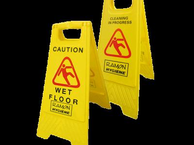 Wet Floor Sign l Dual Side Wet Floor Sign