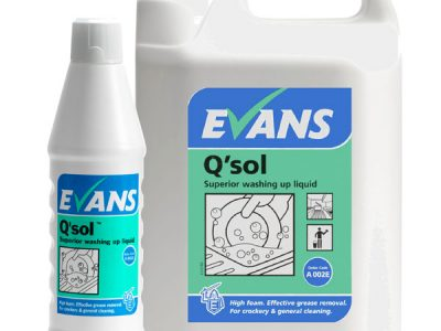 Evans Q`Sol Washing Up Liquid