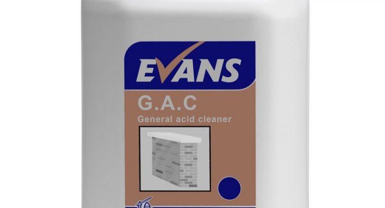 Evans G.A.C Acid Cleaner l General Acid Cleaner