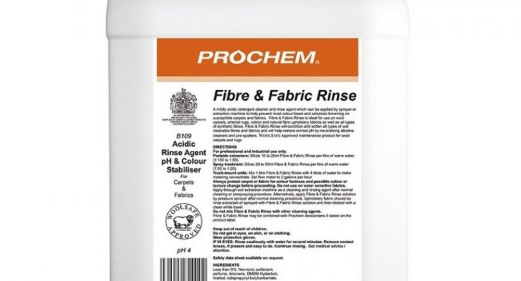 Prochem Fibre & Fabric Rinse 5L
